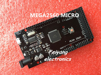 1pcs Mega 2560 R3 CH340G ATmega2560 16AU MicroUSB Compatible For Arduino Mega 2560 With Bootloader Hei