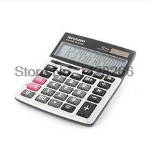 New Genuine Sharp EL-M1200 desktop scientific calculator financial calculator office big screen