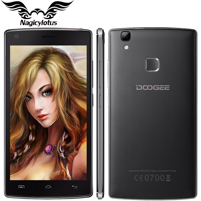 "Original Doogee X5 MAX /X5 MAX Pro 4000mAh Android 6.0 Fingerprint Cellphone 5.0"" HD MTK6580 2GB RAM 16GB ROM 8MP Mobile Phone"