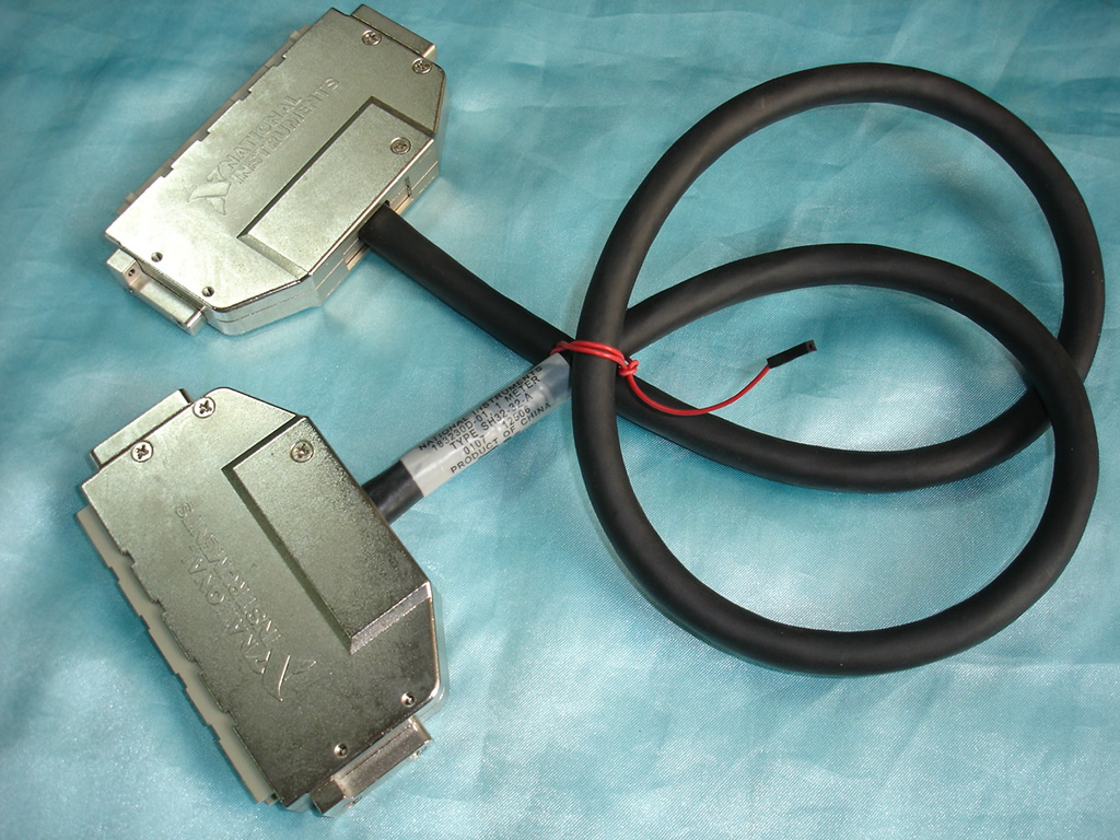For 90% New American Genuine NI Company SH32 32 A Connection Cable Data Acquisition Line (black) USED|Computer Cases & Towers| |  - title=