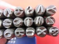 Hot Sale 1 8 4 MM Capital Letter A Z Punch Stamp Set 27 Piece