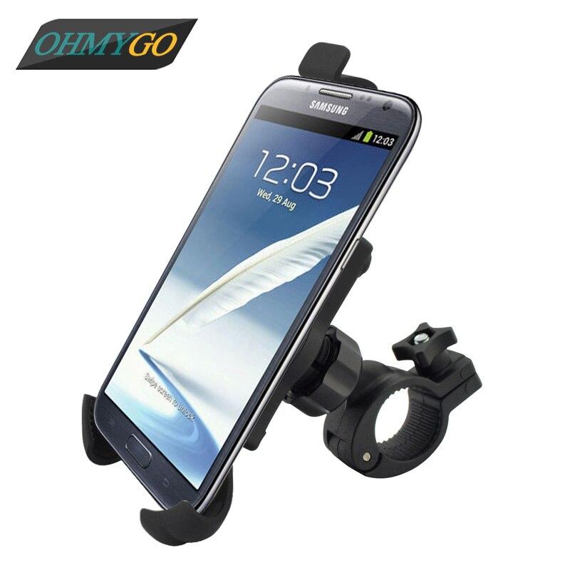 Ohmygo para bicicleta soporte para teléfono para iphone 5 samsung galaxy nota 1/