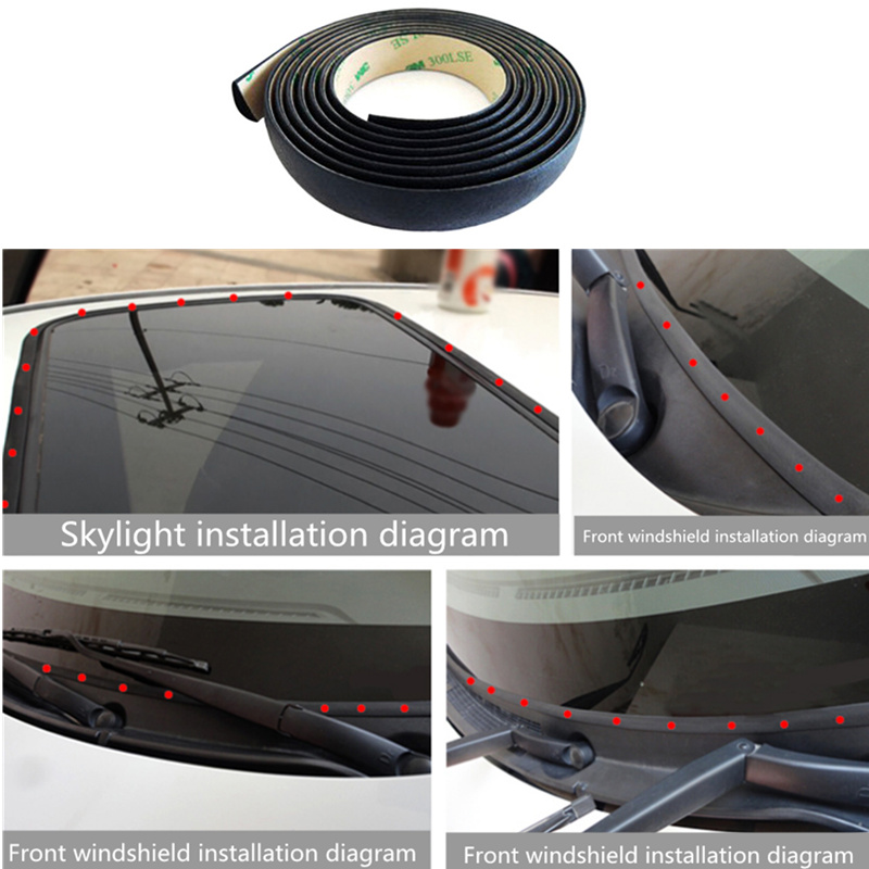 Detail Feedback Questions about Car Door Roof Sunroof Sealed