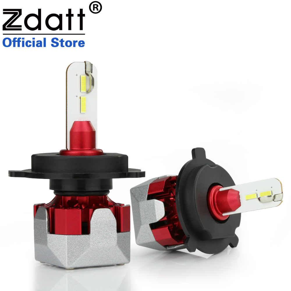 Zdatt H7 LED H4 LED Bulb H1 H11 H8 H9 9005 HB3 9006 HB4 Super Bright Car Headlight 10000LM 80W 6000K Fog Light 12V Auto Lamps