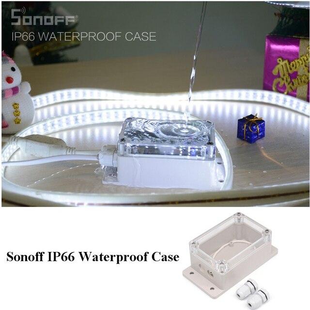 Sonoff IP66 caso de la cubierta impermeable para Sonoff Básicos/RF/doble/Pow/TH16/Pow R2/ g1 de automatización de casa inteligente