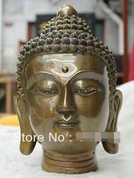 China folk Culture Temple bronze statue Shakyamuni Tathagata Buddha statue