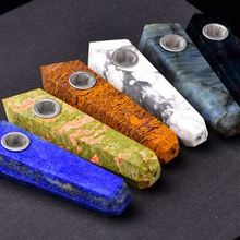 Crystal pipe, crystal mosaic pipe, small gifts for men
