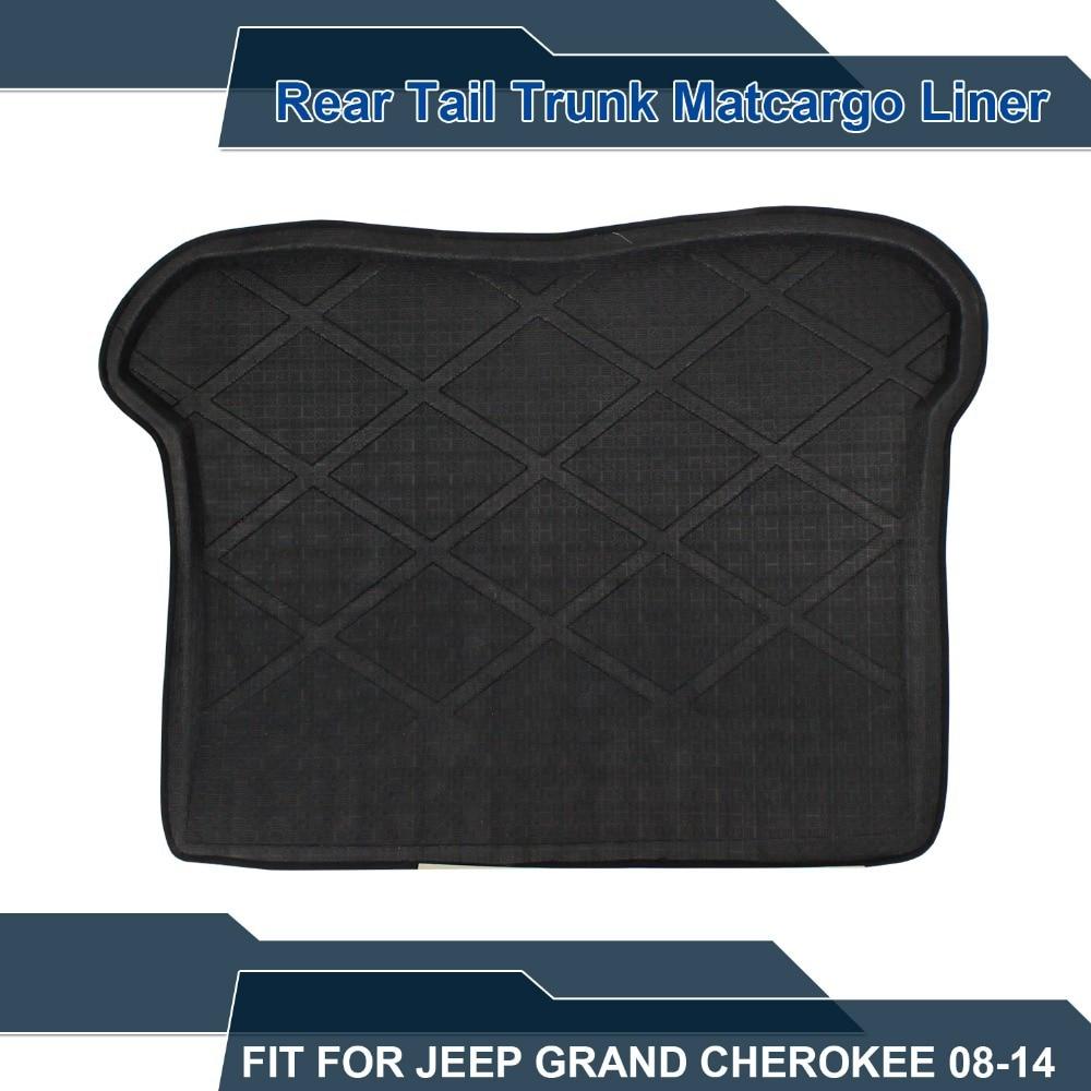 Floor mats jeep grand cherokee 2011 - Waterproof Carpet Rear Truck Cargo Mat Factory Liner Protector Black For Grand Cherokee 2007 2011