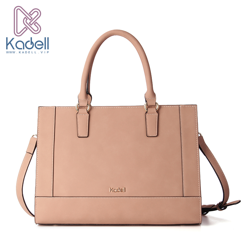 Kadell NEW Luxury Brand Bag Women Leather Handbags Matte PU Leather Ladies Tote Bolsa Vintage Messenger