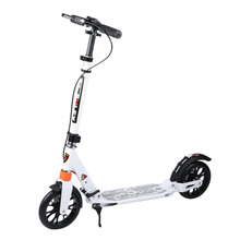 Aluminum Alloy Body Height Adjustable Adults Urban Young People Folding Foot Scooter Fun Play Two Wheel Kick Scooter New Arrival