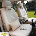 Asiento de Coche Universal Cubre Para Chevrolet Cruze AVEO vela TRAX Epica Malibu CAPTIVA Camaro NEGRO/GRIS/ROJO del coche accesorios
