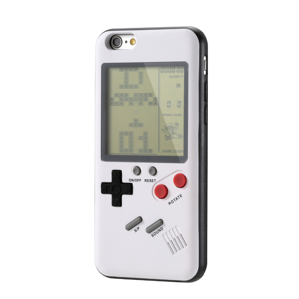 Retro Gb Gameboy Tetris Phone Cases For Iphone 6 6s 7 8 Plus Soft Tpu Game Console Cover For Iphone X Xs Xr Max Capa Phone Cases Case Pluscase Case Aliexpress