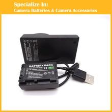 Eeyrnduy 1 x NP-FV50 NPFV50 np FV40 FV30 Battery + charger for Sony DCR-SX33E SX43E SX44E SX85 CX320 DVD308