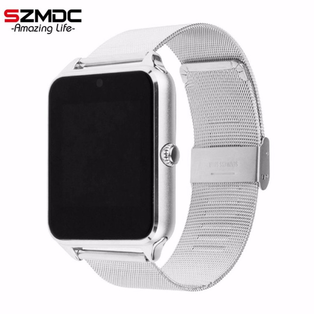 SZMDC חכם שעון GT08 Z60 גברים נשים יד Bluetooth Smartwatch תמיכה ה-SIM/TF כרטיס שעוני יד עבור אפל אנדרואיד טלפון PK DZ09