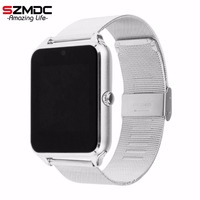 SZMDC Smart Watch GT08 Z60 Men Women Bluetooth Wrist Smartwatch Support SIM TF Card Wristwatch For
