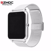 SZMDC Smart Watch GT08 Z60 Men Women Bluetooth Wrist Smartwatch Support SIM/TF Card Wristwatch For Apple Android Phone PK DZ09