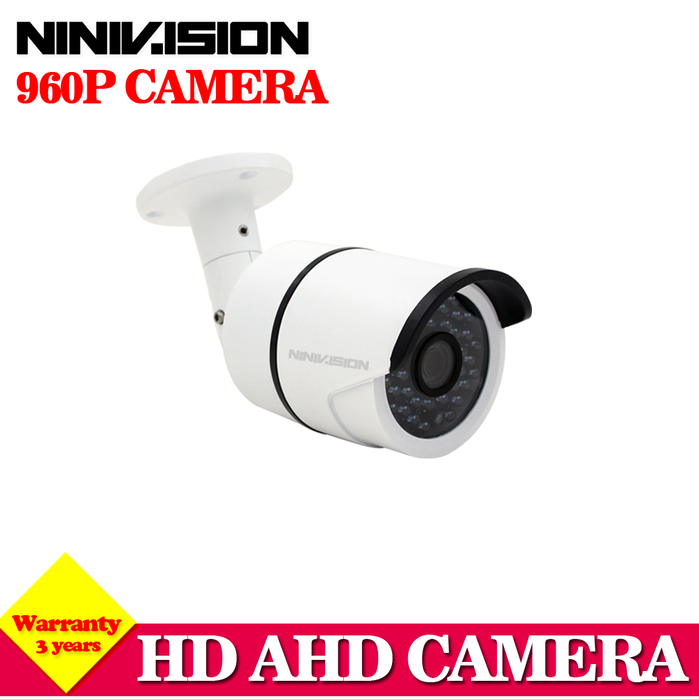 36 LED Color Night Vision Surveillance Bullet AHD Camera Outdoor/Indoor Waterproof hd 2500TVL 1.3MP security CCD IR CCTV Camera smar outdoor bullet ip camera sony imx323 sensor surveillance camera 30 ir led infrared night vision cctv camera waterproof