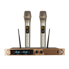 Wireless microphone one for two UHF family KTV / karaoke classroom