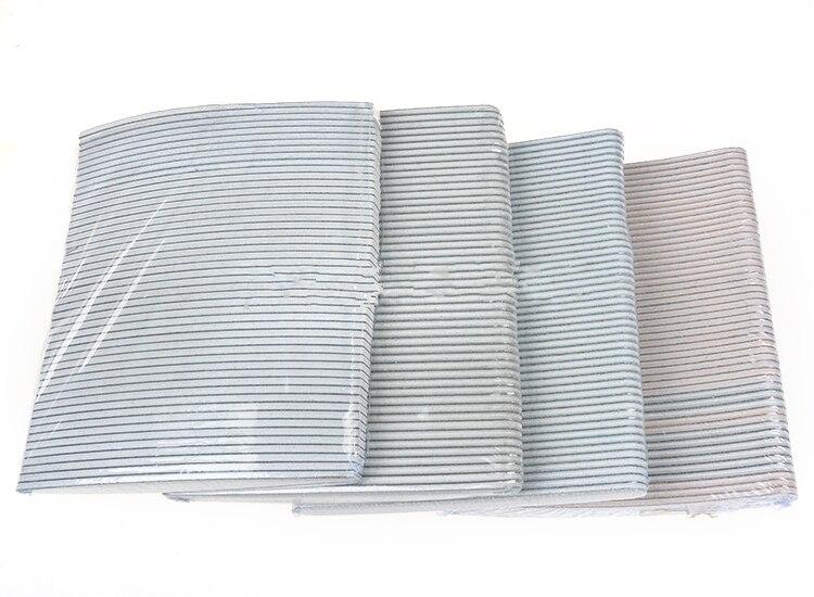 Wholesale 50pcs Nail Files Professional Grey Sanding Nail File Tools ...