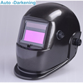 2 Arc sensor Solar auto darkening hood TIG MIG MAG welding helmets welder cap with Adjustable Shade Range mask casque a souder