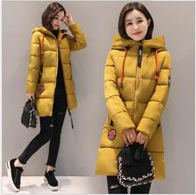 New models of women in the Korean version of the long paragraph  clothing women 's cotton large size Slim thickening was thin