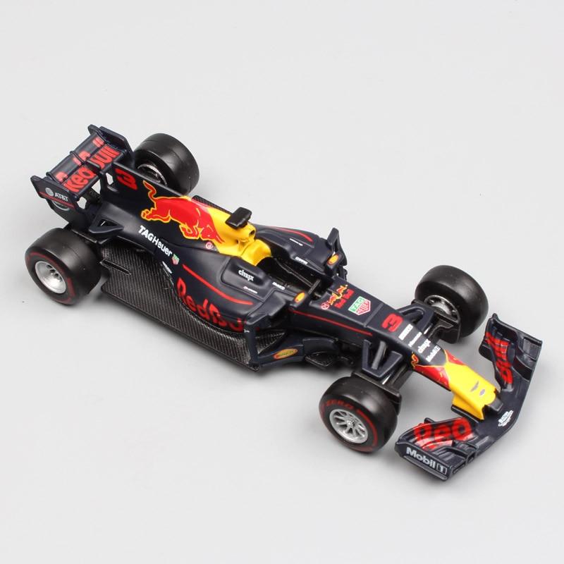 1:43 Scale F1 formula one 2017 Red Bull Racing rb13 2016 SF16-H Petronas F1 Team W07 die ...