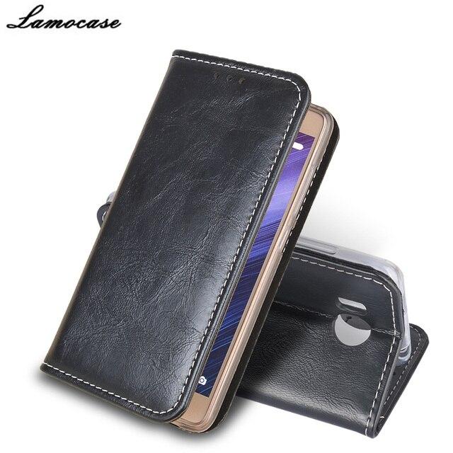 Lamocase For Prestigio Grace R7 PSP7501DUO Luxury Case PU Leather Cover For Prestigio Grace R7 PSP7501DUO Retro Phone Bags&Cases