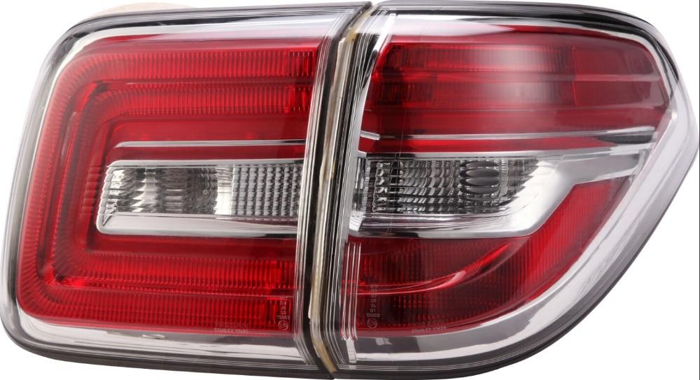 VLAND fabbrica per auto lampada di Coda Per Patrol LED Posteriore 2008 2009 2012 2013 2014 2016 Patrol Y62 LED Fanale posteriore + impermeabile