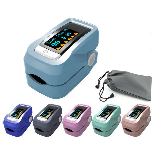 Oximetro De Dedo Pulse Oximeter Blood Saturometro Monitor SPO2 PR Fingertip Oximetro De Pulso Portable Pulsioximetro 2018 new handheld finger pulse oximeter spo2 monitor oximetro pulsioximetro big screen adult pediatric infant vet optional