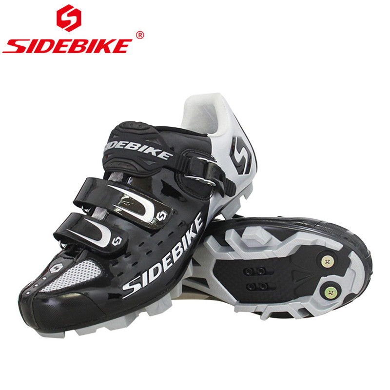 SIDEBIKE Pro Men s Mountain Bike Shoes MTB Cycling Shoes Self Locking Riding Bicycle Shoes with