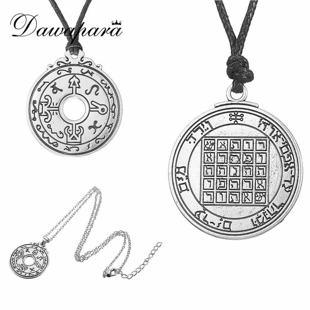Dawapara Pentacle of Saturn Talisman Key of Solomon Seal