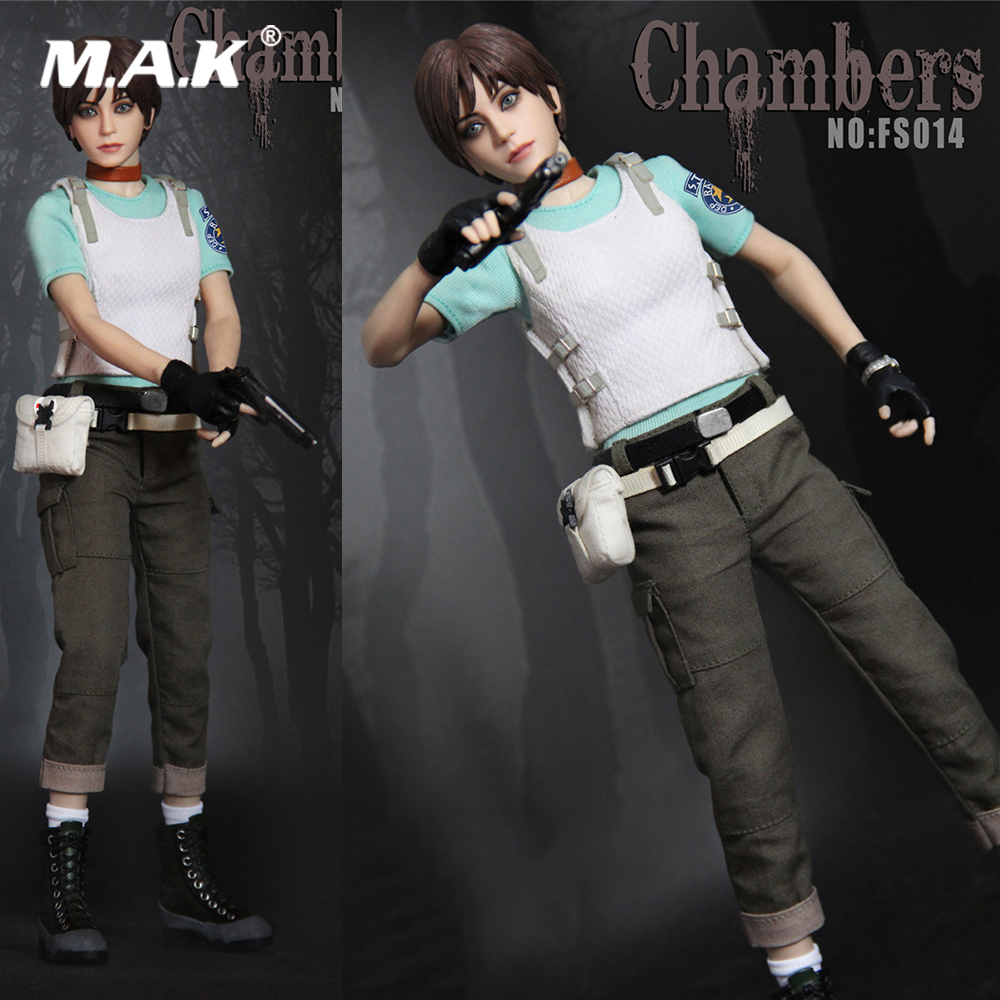 FS014 1/6 Scale Collectible Full Set Resident Evil Rebecca Chambers 12inch Collection Action Figure for Fans Holiday Collection cd billie holiday the centennial collection