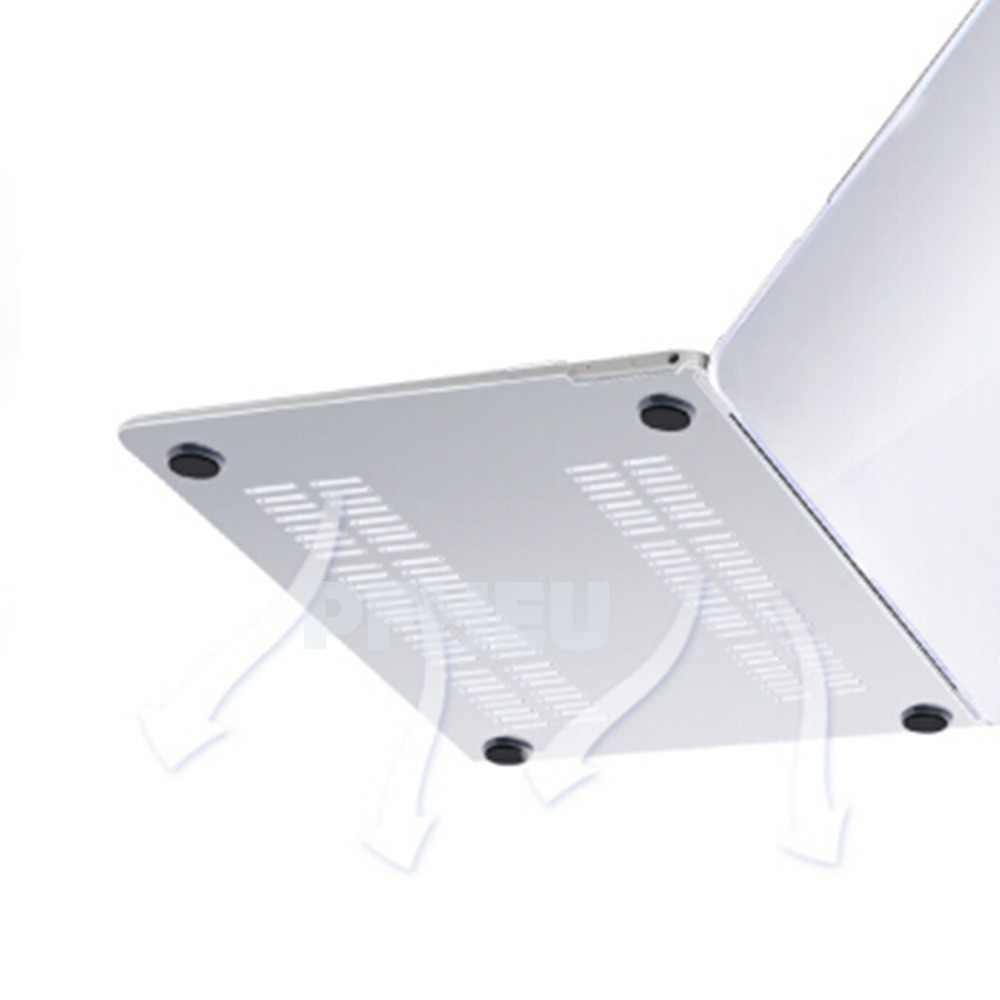 Nowy kryształ matowy matowy ciężka pokrywa dla MacBook Air 11 A1465/air 13 cal A1466 pro 13.3 15 A1278 retina 13 A1502