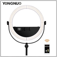 YONGNUO YN508 2 in 1 Bi Color LED Video Ring Light 3200K 5600K for Live Video Beauty Selfie for Smartphone DSLR Camera