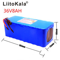 Liitokala 36V 8ah Battery pack High Capacity Lithium Batter pack +NO include 42v 2A chager