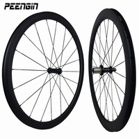 wheel fixie wheelsets 23mm width 38mm+50mm tubular carbon fiber bike road racing wheel best selling to the Colombian bike stores