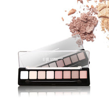 8 Color Women Beautys Matte Eyeshadow Palette Makeup Naked Eye Shadow Palette Smoky Glitter Maquillagexgrj