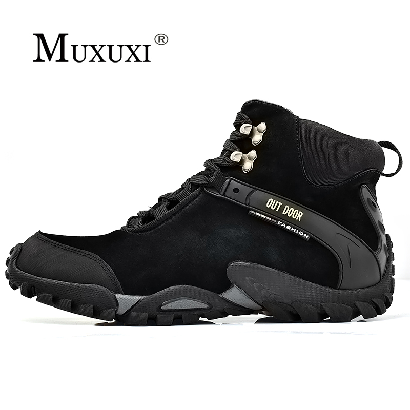 2018 Plus Size Winter Men Boots Fashion Casual Shoes Keep Warm Fur Snow Boots For Men Height Increasing Platform Boots