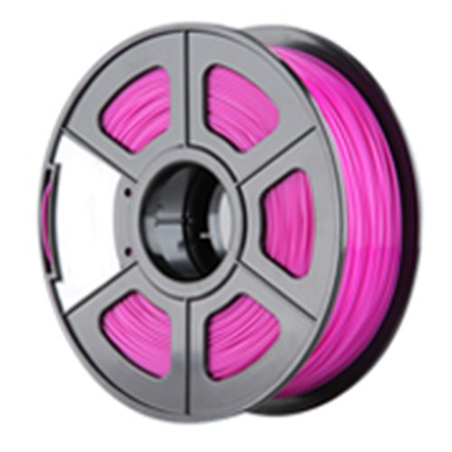 New 3D Printer Filament ABS/PLA 1.75mm/3.0mm for 3D Printer 1kg/2.2lbs Material:PLA Size:1.75mm Color:Fuchsia tronxy 1 75mm pla filament for 3d printer