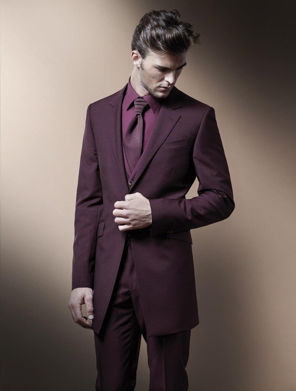 Online Get Cheap Burgundy Linen Suit Jacket Mens -Aliexpress.com ...