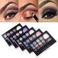 14 Del Maquillaje Del Color de Las Mujeres Natural Caliente 12 Conjunto con un Cepillo de Sombra de Ojos 2 Blush Palette #73765