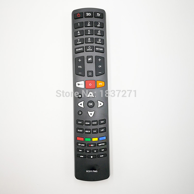 Original remote control RC311 FMI3 for tcl   lcd tv for haier for tcl lcd tv for samsung ls47t3 for delta brand kdb04112hb radiator fan