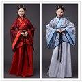 Chino antiguo traje de las mujeres llevan trajes de danza folclórica de la dinastía qing la tradición para ventilador fancy dress cosplay hanfu ropa de china