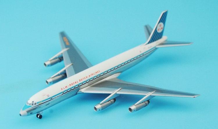 New Aeroclassics 1: 400 Royal Dutch Airlines DC-8-32 PH-DCA Alloy aircraft model Favorites Model ph 1 400 lufthansa german airlines airbus a380 alloy aircraft model d aimn