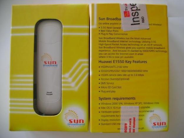 Huawei E1550 Mobile Broadband HSDPA USB STICK
