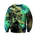 Newest Mens/Womens Galactic Weed space galaxy 3D Print Sweatshirt Hoodies  S M L XL XXL 3XL 4XL 5XL