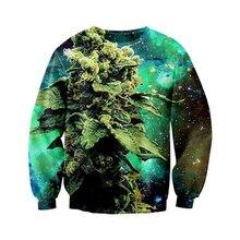Neueste Herren/Damen Galactic Unkraut raum galaxy 3D Print Sweatshirt Hoodies S M L XL XXL 3XL 4XL 5XL