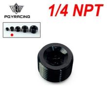 """Pqy 1/4 """"npt 파이프 나사 알렌 소켓 플러그 검정색 npt 플러그 PQY SL932 04"""