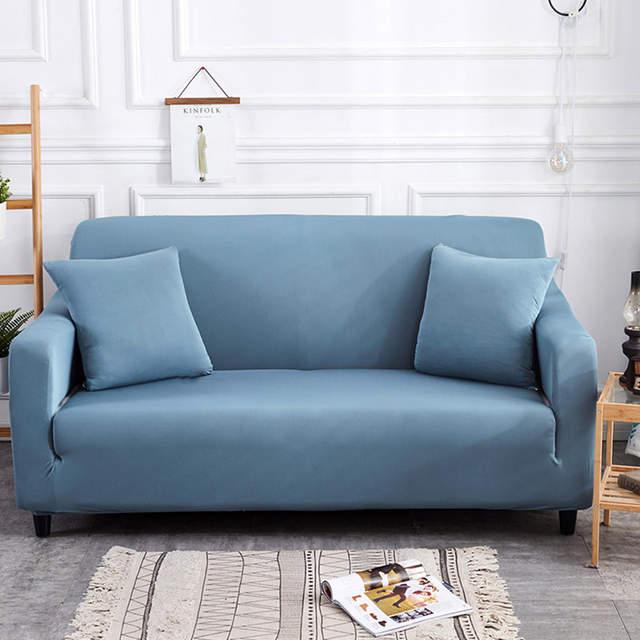 Velvet Recliner Linen Sofa Cover