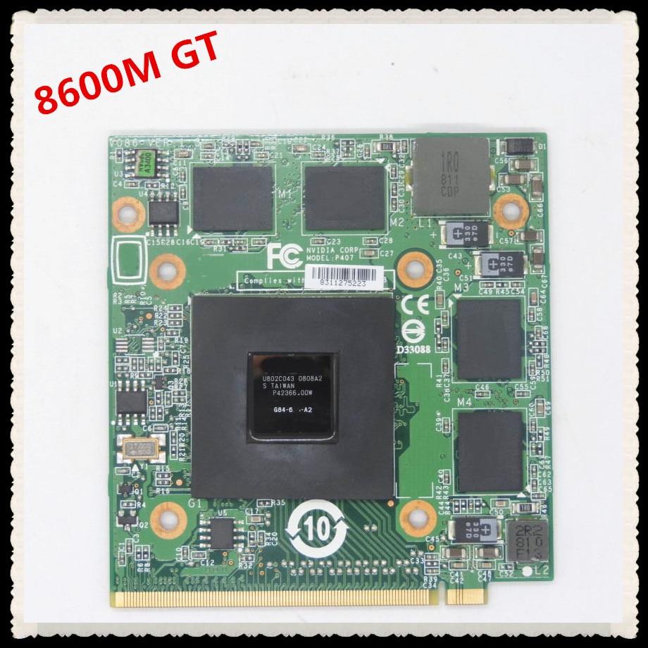 P407 VG.8PG06.002 VG.8PG06.001 8600M GT G84 600 A2 512M VGA Video card for 5920G 5930G 6530G 6920G 6930G 6935G 7520G 7720G 8730G цена